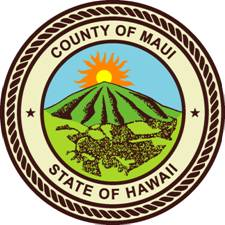 Logo of Maui County